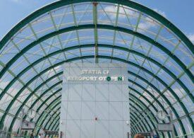 CFR anunţă că linia de cale ferată dintre Gara de Nord şi Aeroportul Internaţional Henri Coandă este gata 97% - FOTO