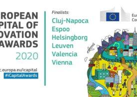 Cluj-Napoca, singurul oraș din România selectat în finala pentru titlul de Capitală Europeană a Inovării: Premiul este de un milion euro