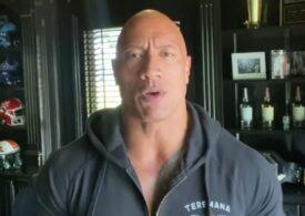 """Dwayne """"the Rock"""" Johnson şi întreaga sa familie au COVID-19: """"Poartă masca. Este ceva real"""" (Video)"""