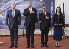 Iohannis s-a bucurat că avocatul general al CJUE spune că înființarea SS e contrară dreptului UE și spune că se rezolvă după alegeri. PNL promitea de anul trecut că o desființează