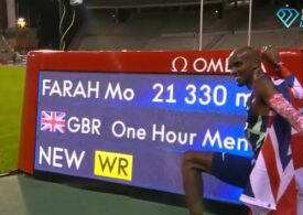Un record mondial legendar în atletism a fost doborât