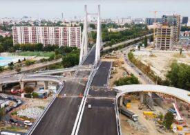 Podul Ciurel a fost deschis circulației. Ce-ar fi trebuit construit în ultimii ani, cât s-a făcut de fapt, și cât de util e în forma actuală (VIDEO)