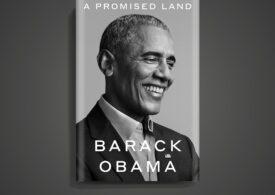 """Obama își lansează primul volum din """"Promised Land"""", o carte care va fi publicată simultan în 25 de limbi, în întreaga lume"""
