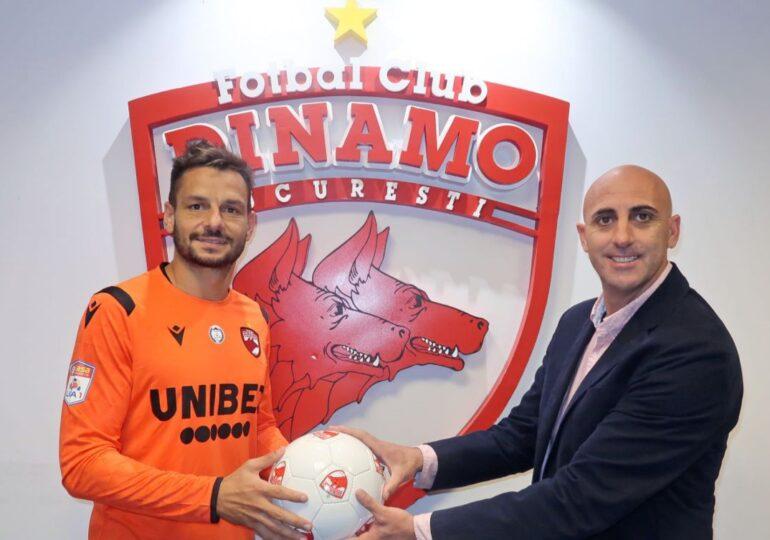 Dinamo a transferat un portar spaniol - oficial