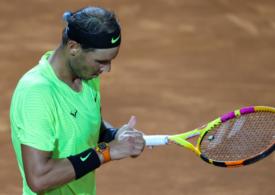 Surpriză mare la Roma: Rafa Nadal, eliminat în sferturile de finală