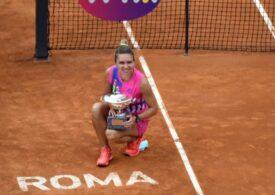 WTA explică de ce Simona Halep a primit cu 10 euro mai puțin decât Djokovic pentru titlul de la Roma