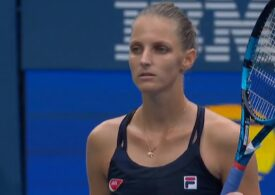 Karolina Pliskova, reacție nervoasă după eliminarea de la US Open