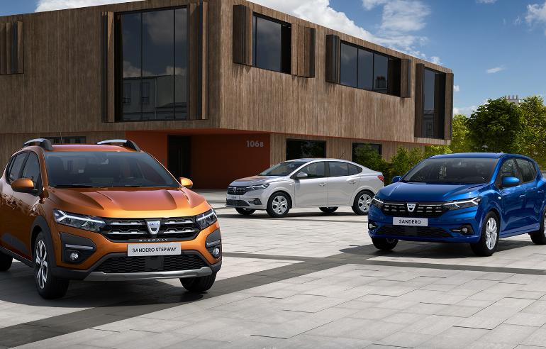 Dacia a anunțat prețurile din România pentru noile Sandero și Logan