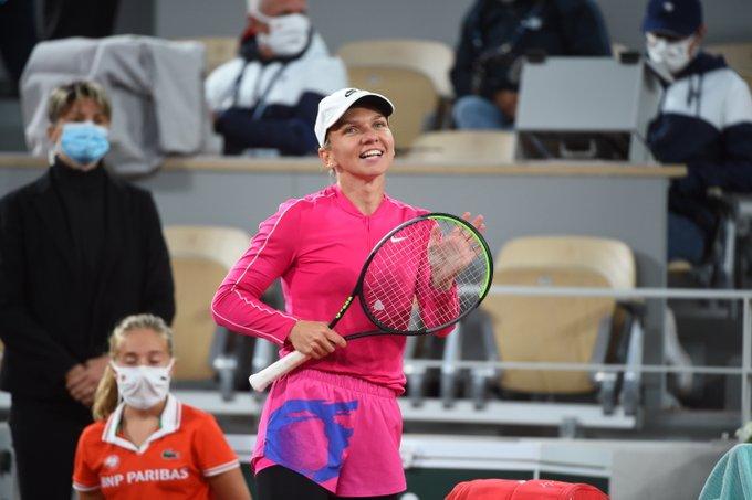 Prima reacție a Simonei Halep după calificarea în turul secund la Roland Garros