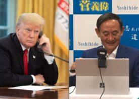 Donald Trump şi noul premier japonez, Yoshihide Suga, se angajează să consolideze alianţa de securitate americano-niponă