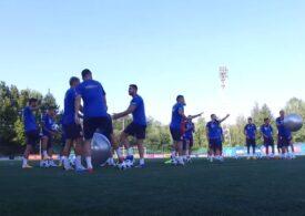 Antrenament inedit pentru naționala României (Video)