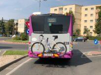 Autobuze cu suport pentru biciclete au apărut pe străzile din Cluj-Napoca