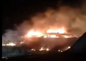 Cel puţin 20 de morţi în urma prăbuşirii unui avion militar în Ucraina (Video)