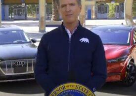 Nicio mașină pe motorină sau benzină nu va mai putea fi vândută în California din 2035