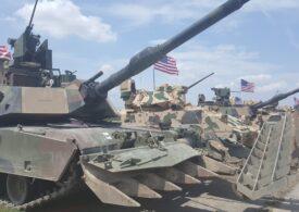 Trupe și tancuri americane au fost trimise la frontiera NATO cu Belarus