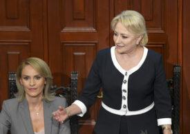 Viorica Dăncilă se întoarce: O susţin pe Gabriela Firea. PSD va fi din nou victorios în Bucureşti. Succes, Gabi!