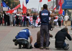 Un nou protest cu zeci de mii de oameni la Minsk: Zeci de protestatari arestați