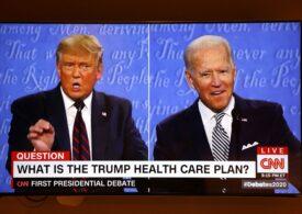 Haos deprimant la primul duel televizat Trump-Biden