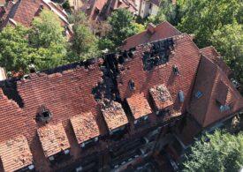 Incendiu la un hotel din București (Video)