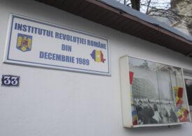Institutul Revoluţiei Române din Decembrie 1989, condus de Ion Iliescu și Gelu Voican Voiculescu, rămâne în picioare