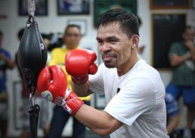 Luptă incendiară pentru Manny Pacquiao