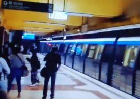 Defecțiune la stația de metrou Tineretului: Circulația a fost afectată și pasagerii, evacuați (Video)