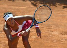 Garbine Muguruza dă vina pe o accidentare pentru înfrângerea cu Simona Halep
