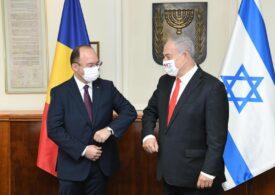 Aurescu s-a întâlnit cu Netanyahu. Vor să facă o ședință comună a celor două guverne