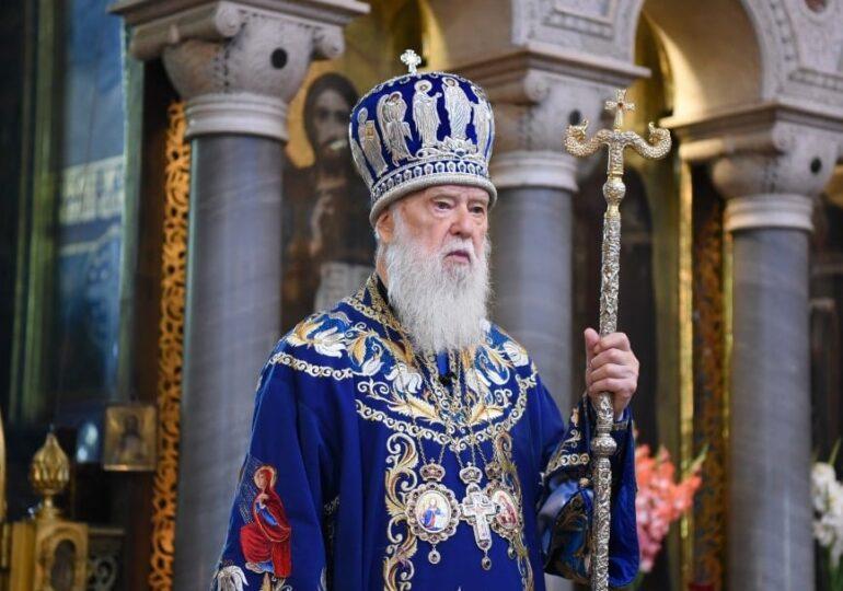 Patriarhul Ucrainei, care a dat vina pe căsătoriile gay pentru coronavirus, are Covid-19