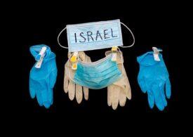 Israelul şi-a doborât iar recordul de infectări COVID zilnice. Nimeni nu mai are voie să iasă din casă după 7 seara