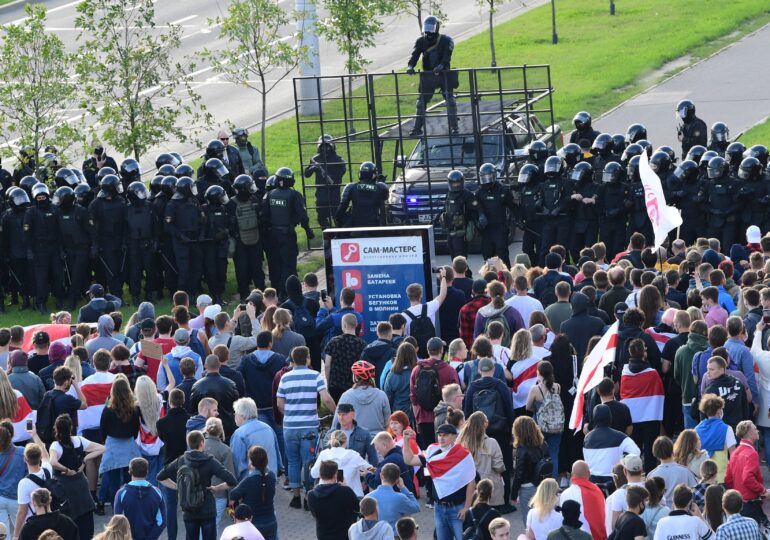 Noi proteste în Belarus, față de președintele Lukaşenko: Sute de persoane au fost arestate