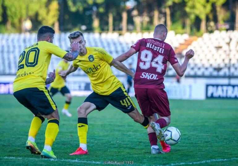 Rezultatele înregistrate sâmbătă în Liga a 2-a: Turris a reușit scorul etapei. Rapid, pe primul loc