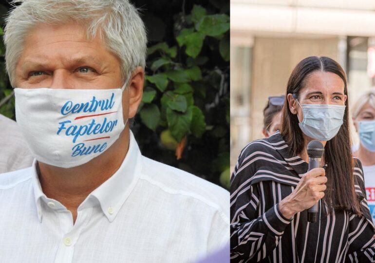 Clotilde Armand câştigă Primăria Sectorului 1 cu 11 procente în faţa lui Dan Tudorache – rezultate exit poll
