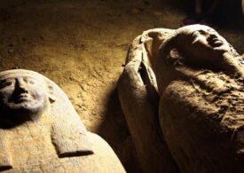 Egiptul anunţă că a descoperit 59 de sarcofage intacte: E începutul unei mari descoperiri