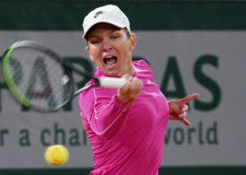 Simona Halep o învinge pe Irina Begu în turul doi de la Roland Garros