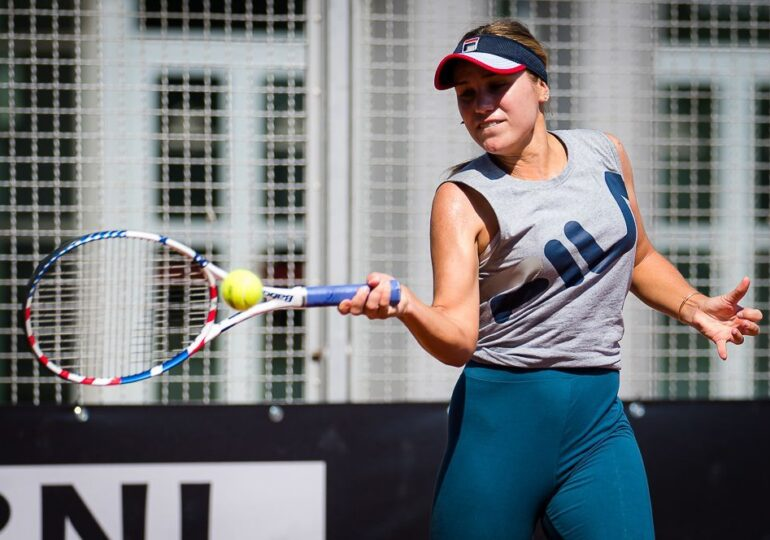 Sofia Kenin, favorita numărul trei, a fost zdrobită la Roma: 6-0, 6-0!
