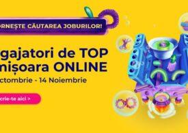 Cel mai mare târg de carieră din Banat, Angajatori de TOP Timișoara, va avea loc exclusiv online. Companiile fac mai multe angajări față de prima jumătate a anului