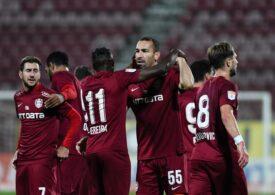 Liga 1: CFR Cluj câștigă la Voluntari cu scorul său favorit