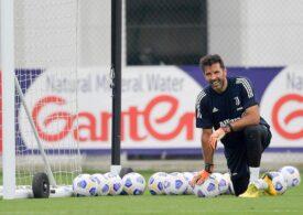 Gigi Buffon, amendat pentru blasfemie
