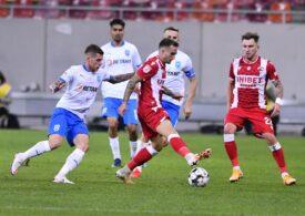 Liga 1: Craiova ajunge la șapte victorii la rând după ce învinge Dinamo cu un penalti discutabil