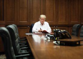 Donald Trump a anunţat că iese din spital: Mă simt mai bine decât acum 20 de ani