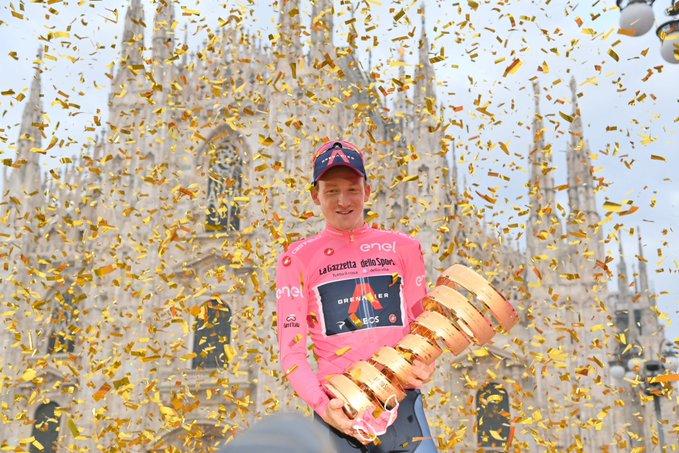 Câștigător surpriză în Giro d'Italia