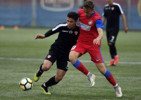 FCSB o umilește pe Dinamo în Liga Elitelor la tineret și îi marchează opt goluri