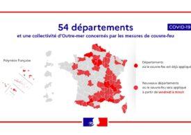 Covid-19: Aproape 46 de milioane de francezi, blocați în case pe timpul nopții
