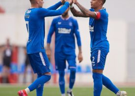 Încă o pasă de gol pentru Ianis Hagi la Rangers (Video)