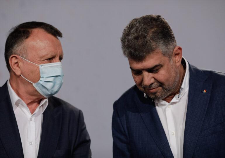 Marcel Ciolacu şi Paul Stănescu au primit rezultatele testelor pentru Covid