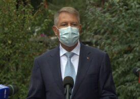 Iohannis s-a dus la INSP: Nu intenționez să reintroduc starea de urgență. Purtați mască tot timpul când ieșiți din casă (Video)