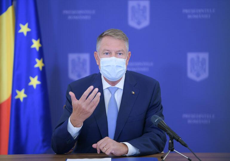 Iohannis: Pentru Bucureşti nu se discută despre carantinare. Nu s-a întrunit punctajul stabilit de specialişti