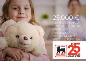 Mega Image donează 25.000 de euro pentru renovarea secției de oncologie pediatrică de la Spitalul Fundeni