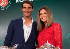 Simona Halep i-a transmis un mesaj superb lui Rafa Nadal, după încă un succes al acestuia la Roland Garros